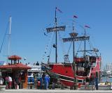 The Tampa Bay Bucaneer ship