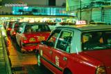 Taxi in Star ferry pier (Central)