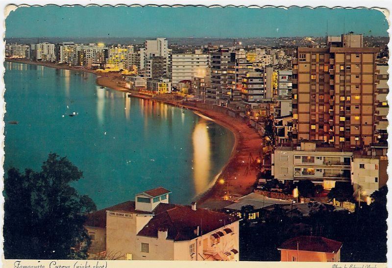 Rare Famagusta night shot
