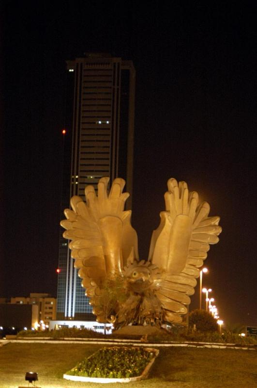 Eagle Roundabout and Fujairah Tower