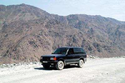 The Hajar Mountains have many rugged back roads to explore