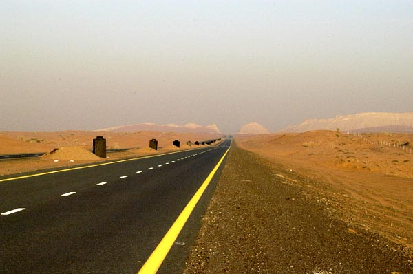 A new road across the desert will shorten the drive time from Dubai to the east coast