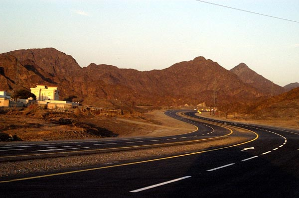 A new road across the mountains to Kalba