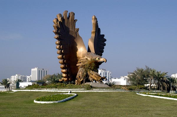 Eagle Roundabout near Fujairah Airport