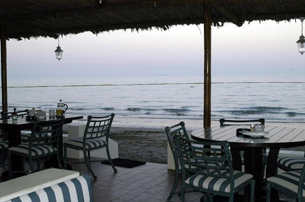 Beachfront at the Fujairah Hilton