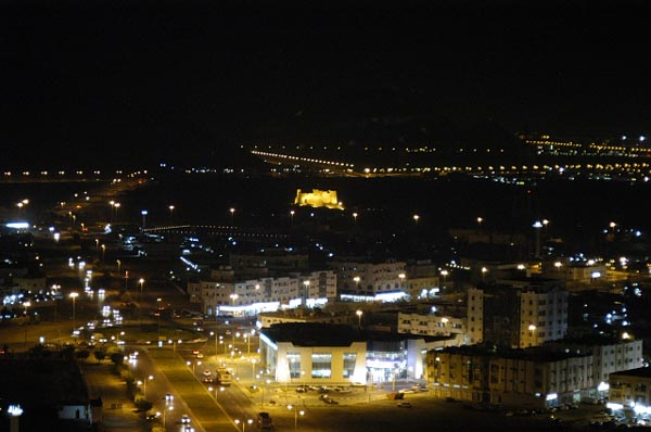 View W at night