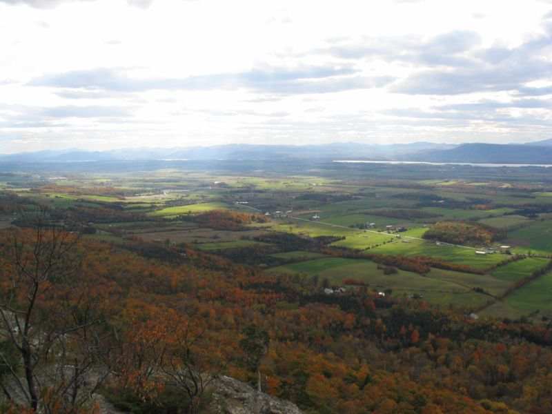 Champlain Valley from Snake Mountain