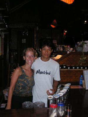 M & a staff member