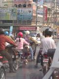 Chaing Mai traffic (it's all about the scooter)