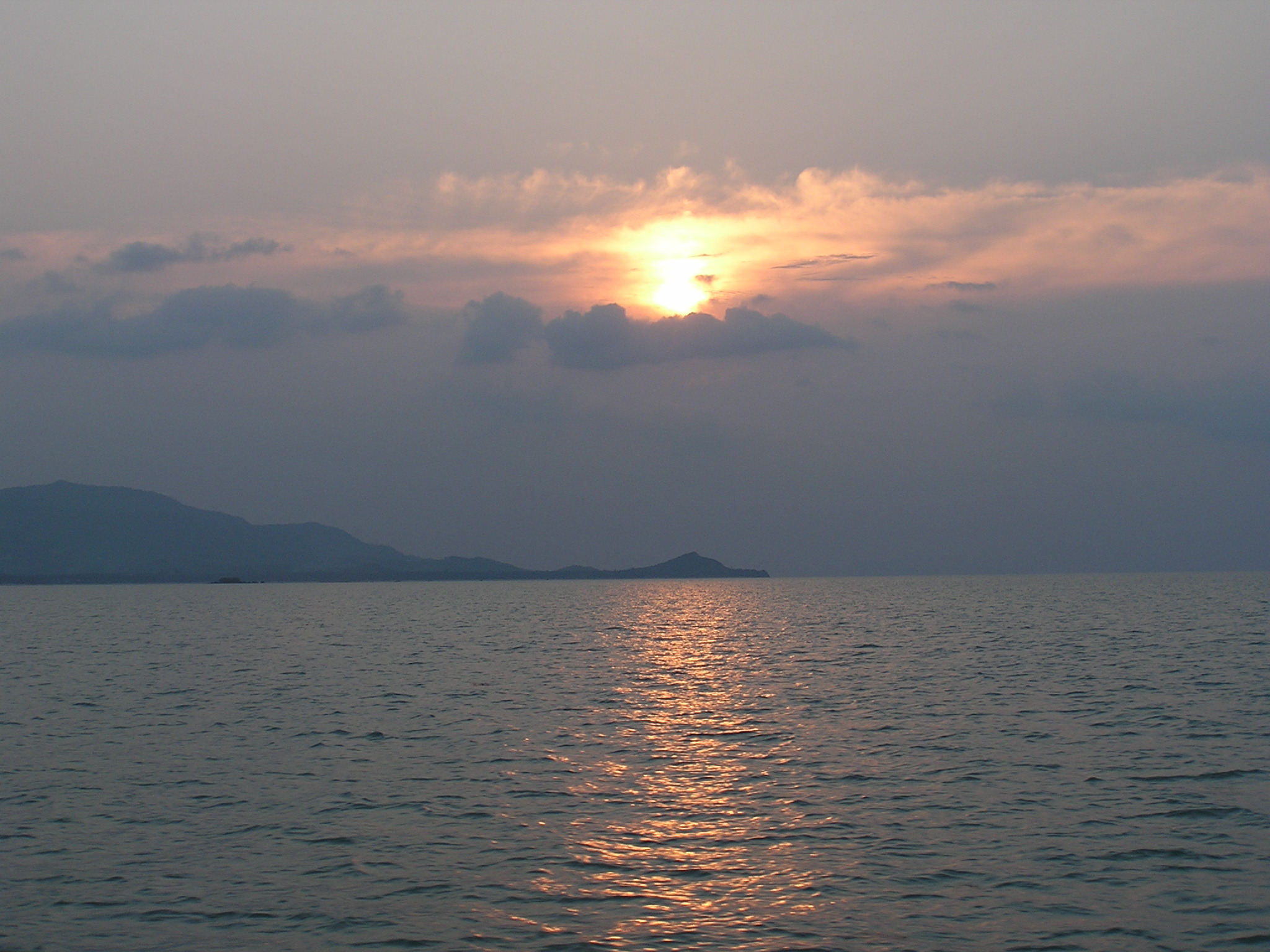 Pretty sunset over Koh Samui