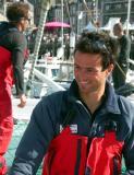 Franck Cammas heureux des victoires de Groupama