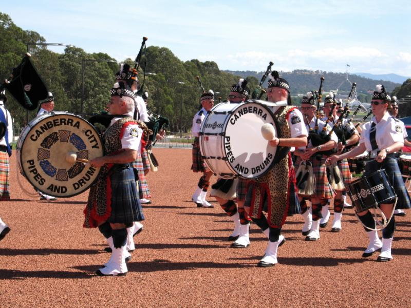 Canberra City Pipes and Drums