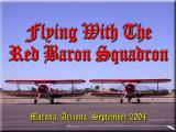 Flying with the Red Baron Squadron