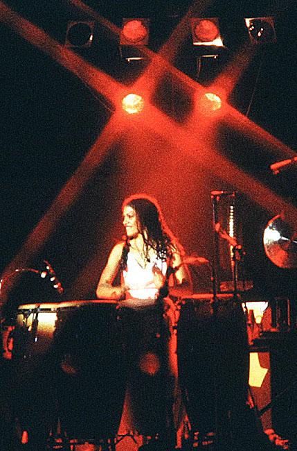 George Duke band: Sheila Escovedo