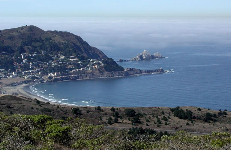Pacifica from Baquiano trail