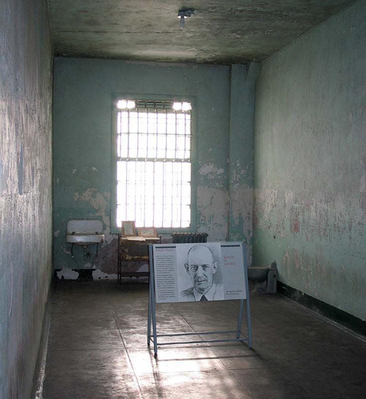 Robert Strouds cell in hospital.jpg