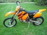 KTM 250EXC to 380EXC 2002 - 2004
