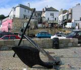 Anchor at Lyme Regis