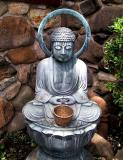 Small image of the Buddha with a halo