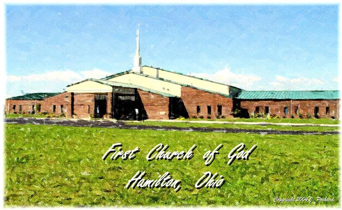 Hamilton First Church of God sketch