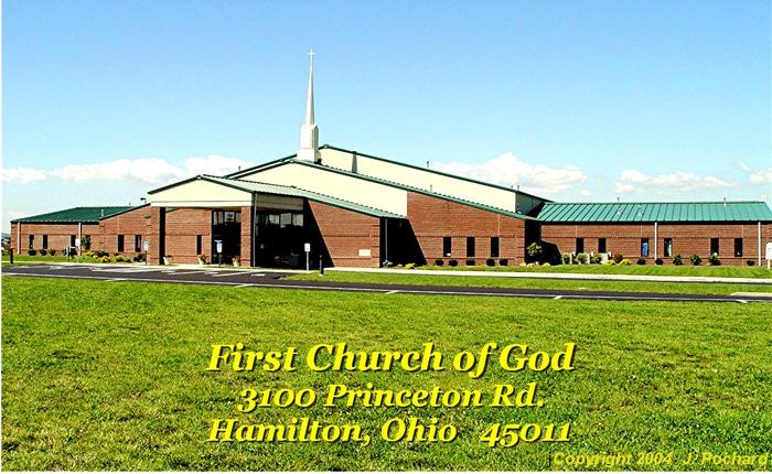 Hamilton First Church of God text