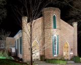 Presbyterian Church at Night.