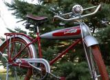 1935 Schwinn Aerocycle. This bike was found in a dumpster two years ago.  My friend found it, but he didn't sell it to me for cost!