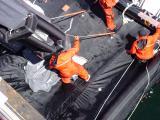 Ready chute bottom