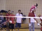 Jordan hitting, David, Jared, and Reid