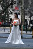A bride in New York