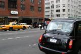 Black taxi, yellow taxi