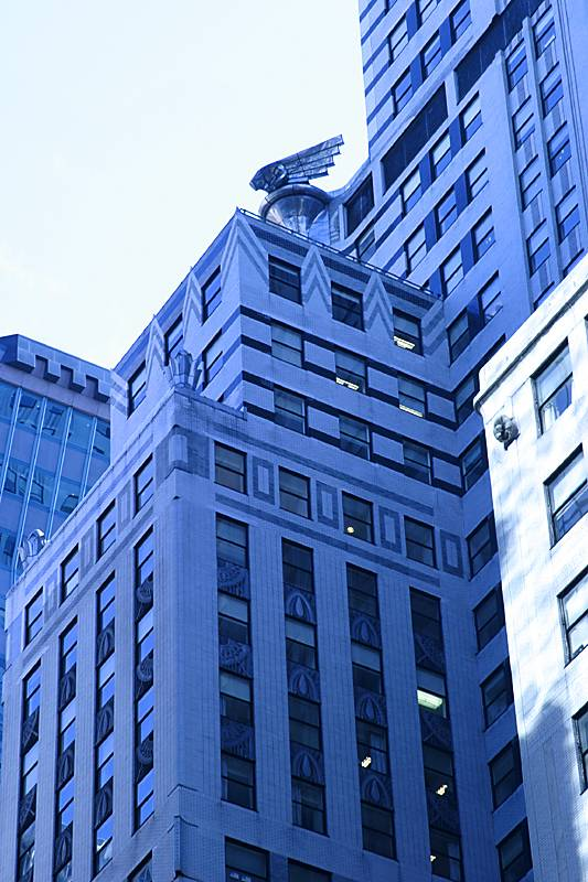 More Chrysler Building detail