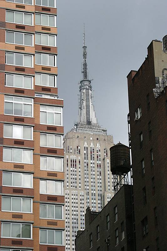 Everything about the city - Empire State Building, wooden water towers and skyscrapers!