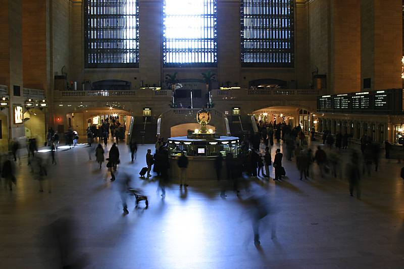 Inside Grand Central Station - wow
