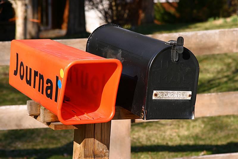 A USA mailbox