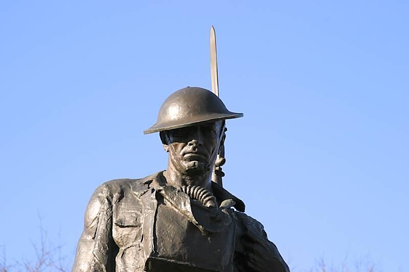 A world war 1 soldier
