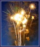 Lackawanna Stadium Fireworks