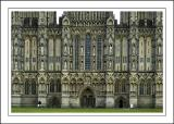 More of the front face, Wells Cathedral