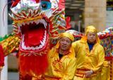 Chinese New Year Celebration in Kilmarnock Ayrshire Scotland. Feb '05.