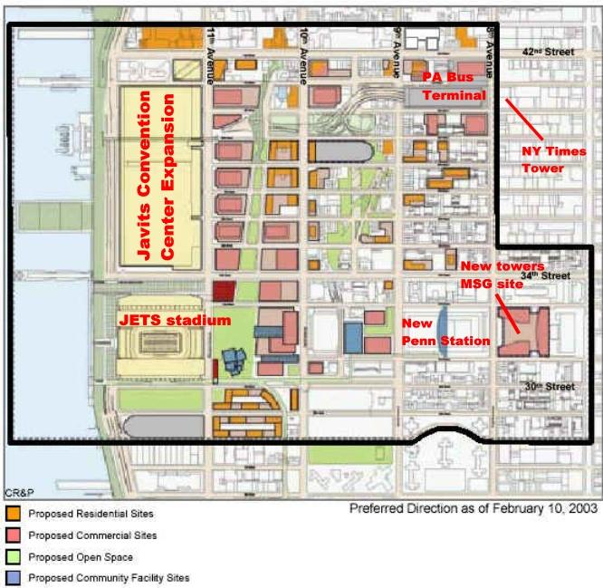 Javits Center Expansion (& Cancelled Jets Stadium)