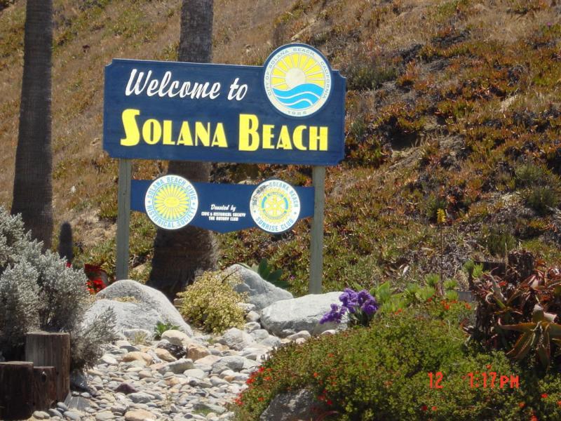 Entering Solana Beach - almost home...