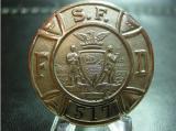 sf fireman's badge  1800's