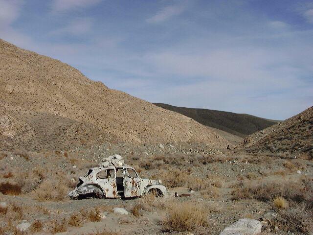 Volkswagen Memorial, Saline Valley Road