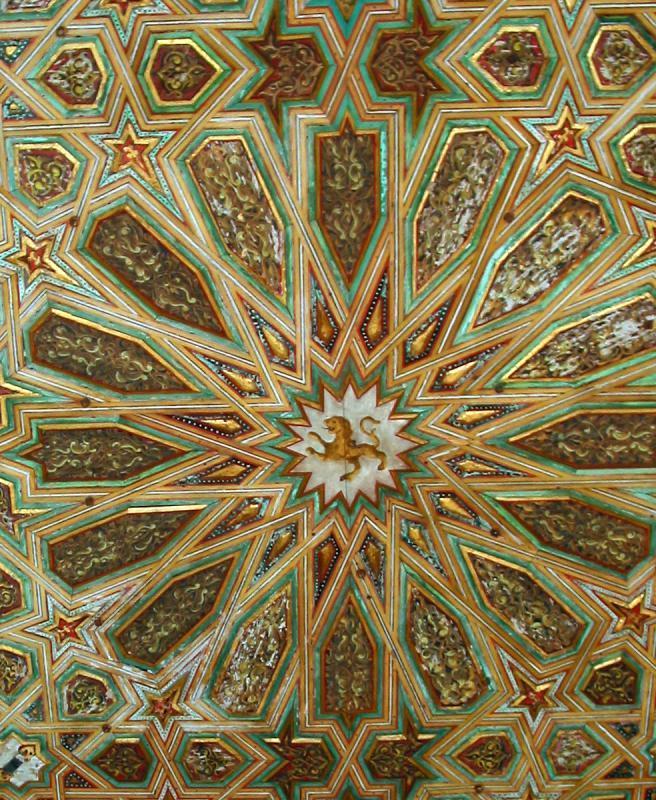 Ceiling Tiles in Real Alcazar