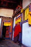 Monk at a Paro Monastery
