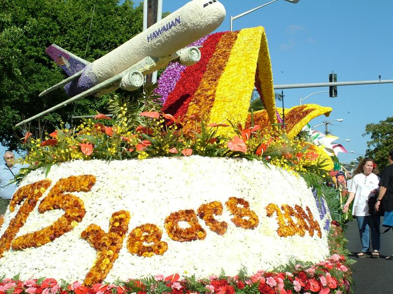 The Hawaiian Airlines Float