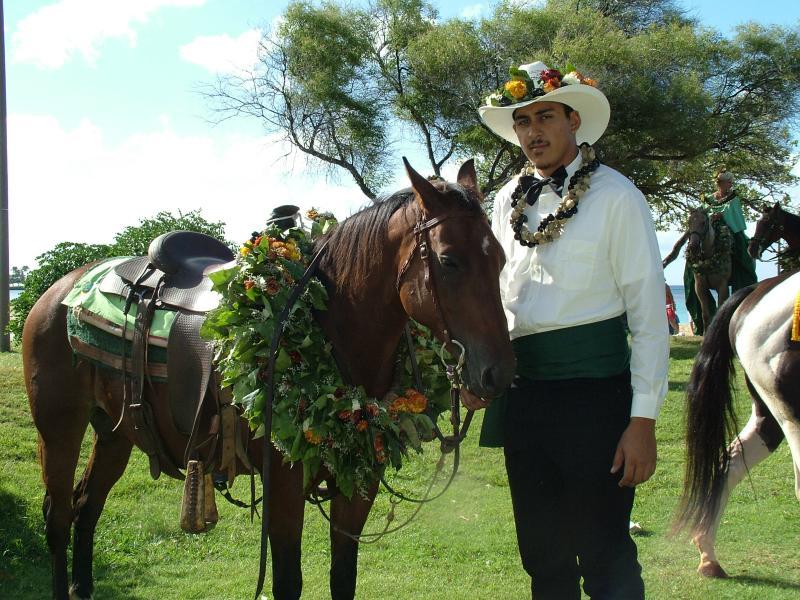 Green Represents the Island of Moloka'i