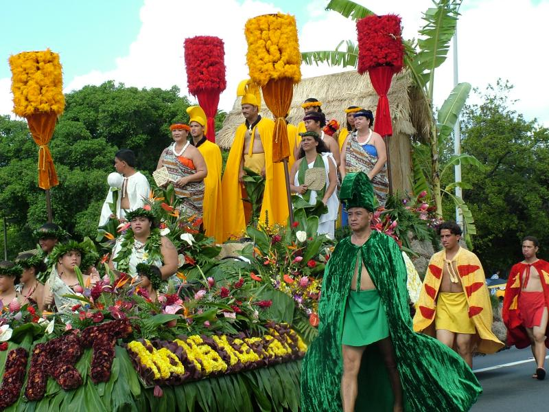 Aloha Festivals & Parade in Waikiki