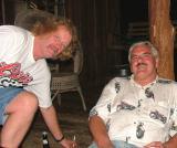 Dale Reno (Hay Seed Dixie) and Steve Cavanah