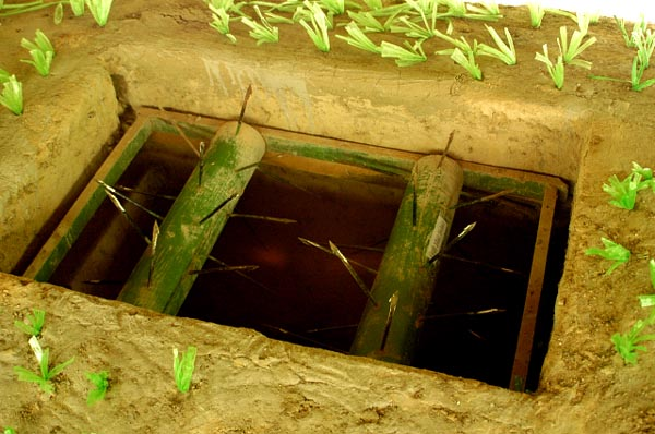Viet Cong booby trap